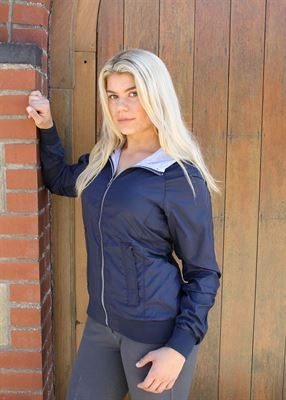 navy lighweight jacket 1