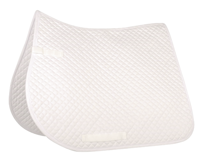 WHITE SADDLE PAD BRIGHTER EDIT