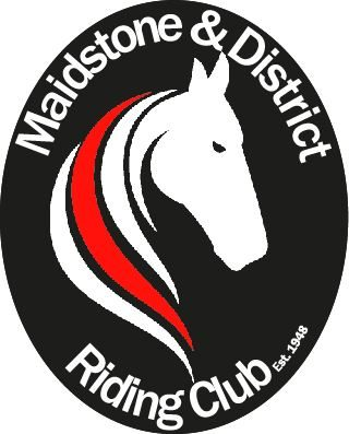 Maidstone and District Riding Club black background